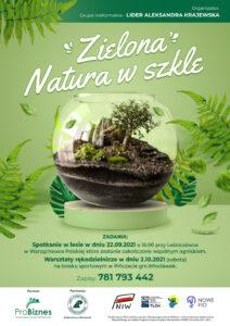 Zielona natura w szkle